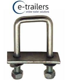 Square U Bolt, nylock nuts, plate & washers from £3.99 . Click on the picture for sizes
