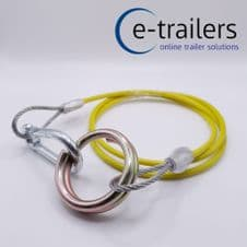 TRAILER BREAKAWAY CABLE FOR TOWING-HEAVY DUTY- QUICK RELEASE- IFOR WILLIAMS