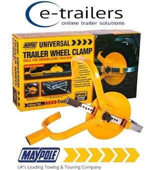 UK MAYPOLE CLAMP FOR TRAILER WHEELS 8-10