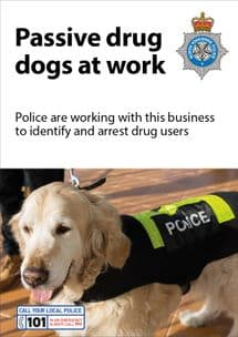 NYP16-0006 - Poster: Drug dogs