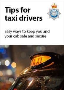 NYP16-0034 - Postcard: Security for taxi drivers