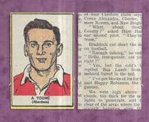 Aberdeen Alec Young 1954