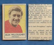 Aberdeen Alex Willoughby 1970