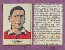 Aberdeen Jimmy Wallace 1954