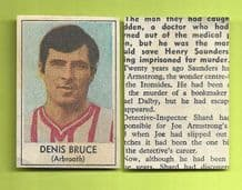 Arbroath Denis Bruce 1969