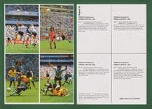 Argentina Brazil France Morocco Scotland West Germany 12 UNCUT McLeish