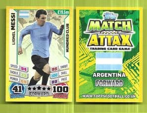 Argentina Lionel Messi Barcelona 271 100 Club (14AS)