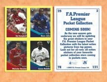 Arsenal Campbell Birmingham City John Middlesbrough Christie Leeds United Radebe (UB)