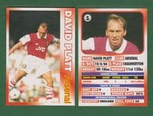 Arsenal David Platt England 1