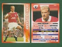 Arsenal Dennis Bergkamp Holland 2
