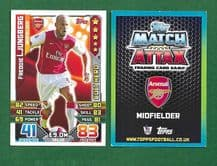 Arsenal Freddie Ljungberg CULT HERO H1 (JK)
