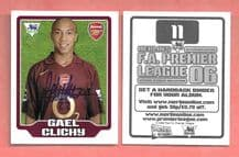 Arsenal Gael Clichy France 11