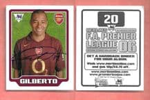 Arsenal Gilberto Brazil 20
