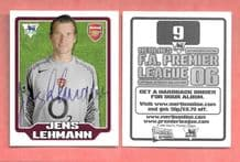 Arsenal Jens Lehmann Germany 9