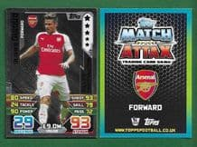Arsenal Olivier Giroud France LE3 Silver Limited Edition