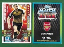 Arsenal Per Mertesacker Germany 422 Away Kit