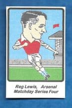 Arsenal Reg Lewis (MD4)