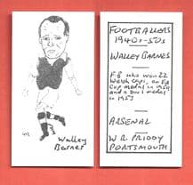Arsenal Wally Barnes 49