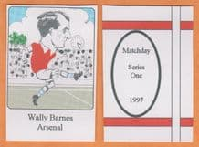 Arsenal Wally Barnes (MD1)