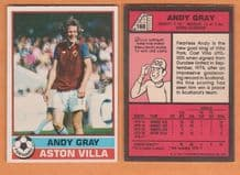 Aston Villa Andy Gray Scotland 160