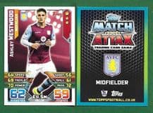 Aston Villa Ashley Westwood 44