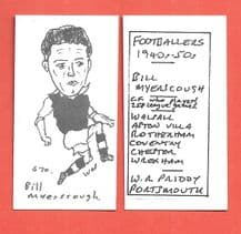 Aston Villa Bill Myerscough 670
