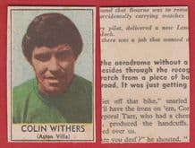 Aston Villa Colin Withers 1968