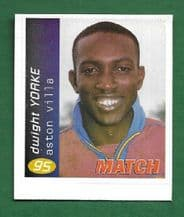 Aston Villa Dwight Yorke 95