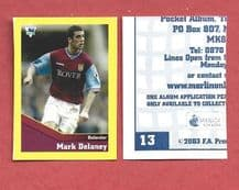Aston Villa Mark Delaney Wales 13 BBL
