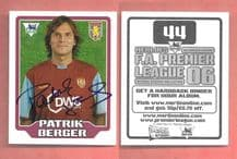 Aston Villa Patrik Berger Czech Republic 44