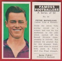 Aston Villa Peter McParland Northern Ireland