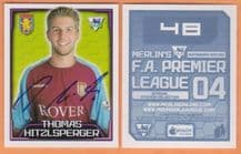 Aston Villa Thomas Hitzlsperger Germany 48