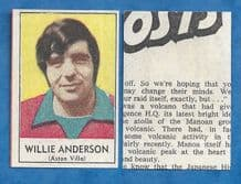 Aston Villa Willie Anderson 1970