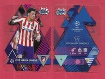 Atletico Madrid Jose Giminez 9 (UCL)