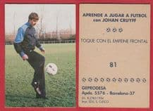 Barcelona Johan Cruyff Holland Training 81