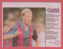 Barcelona Ronald Koeman Holland 13