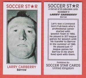 Barrow Larry Carberry 9 (SSC2)