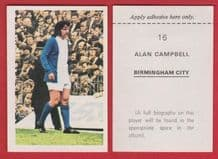 Birmingham City Alan Campbell
