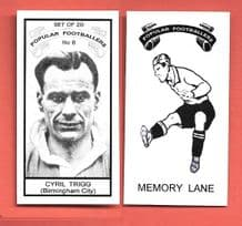 Birmingham City Cyril Trigg 8 (MLPF)