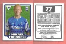 Birmingham City Mikael Forsell Finland 77