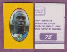 Blackburn Rovers Andy Cole England 75A