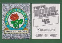 Blackburn Rovers Badge 45