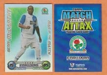 Blackburn Rovers Benni McCarthy South Africa Man of the Match