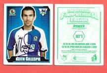 Blackburn Rovers Keith Gillespie 107