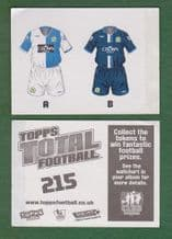 Blackburn Rovers Kit 215