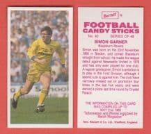 Blackburn Rovers Simon Garner 42