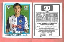 Blackburn Rovers Zurab Khizanishvili Georgia 90