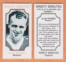 Blackpool Alan Withers 1 (NM4)