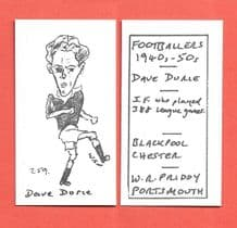 Blackpool Dave Durie 259