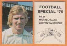 Bolton Wanderers Mike Walsh 58
